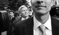 --General News 1st Place: Rob Ostermaier/Daily Press--Former Virginia governor Bob McDonnell is swarmed by local and national media after leaving the federal courthouse in Richmond. The jury in his corruption case did not reach a verdict after the second day of deliberations.