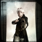 """Robert Laubach III , 20, cosplays as Sorin Lucien. Laubach III said """"As an original character for the game from Iron Kingdom me and the group [I'm with] promote the game with our cosplay."""""""