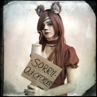 """Katelyn Heath, 15, cosplays as Foxy of Five Nights at Freddy's. Heath said she chose her character because """"I wanted to do something different with her to make her cute. I also fell in love with the game."""""""