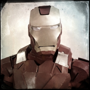 "Caleb Baker, 28, cosplays as Iron Man. Baker said he chose his character ""because we saw Iron Man 3 and I got inspired."""