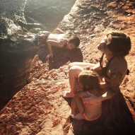 Levi-Joseph, my wife Jasmine and Opal, 3, feel at home in Sedona, AZ. The kids fell in love with Northern Arizona and kept asking if we could move to Flagstaff where Jasmine's father and stepmother reside.