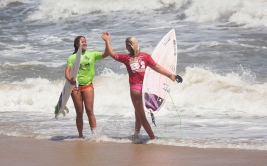 The 52nd Annual East Coast Surfing Championships, were held this year at the Virginia Beach oceanfront. More than 200 professional surfers competed in the world's second-oldest continuously-run surfing contest.