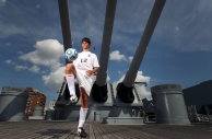Reeves Trott of Lafayette is the male soccer player of the year. Reeves is on the USS Wisconsin underneath the 16 inch guns. The Iowa-class battleship has nine guns that fire explosive rounds some over 2,000 pounds and can accurately engage targets up to 23 miles away.