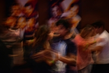 HM PICTORIAL: Jahi Chikwendiu, Washington Post---Dancers practice their moves during a Bachata Sensual dance workshop at The Salsa Room on January 10, 2015, in Arlington, VA.