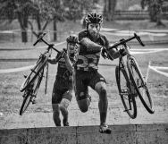 2nd PLACE SPORTS ACTION: Doug Graham, Loudon Now---Racing action at the Luray Caverns CX race held on the grounds of Luray Caverns in Virginia on September 12, 2015.