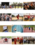 HM SPORTS PICTURE STORY: Mike Morones, Military Times---Summary: Athletes representing all of the service branches converged on Marine Corps Base Quantico to compete in the annual Warrior Games competition. The service members are all recovering from combat wounds, illnesses or other injuries.