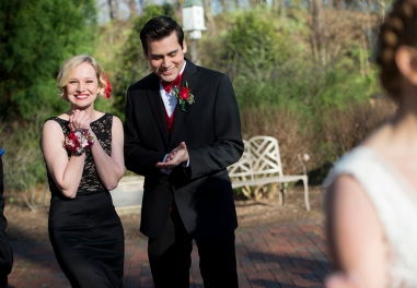 "Before the start of prom, Taylor Rodriguez and his girlfriend Ellee Evans meet with friends at to take photos together. Balancing Rodriguez's Elvis career is not always easy. ""When I am on stage, I try as much as I can to pay tribute to Elvis. When then when I come off stage, I am Taylor,"" said Rodriguez."