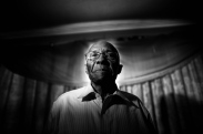 3rd Place Portrait: M. Scott Mahaskey, Politico--Portrait of Bishop Calvin Woods, Sr. of Shiloh Baptist Church, Birmingham, Alabama, photographed Feb. 19, 2016. Commenting on this yearÕs election, Woods said: ÒItÕs a mess in a way. When we sow the wind, we reaped a whirlwind (referring to biblical verse Hosea 8:7). So we canÕt blame anybody but ourselves for that. So we have to deal with it. Some of us are too wishy-washy when it comes to justice and things of that nature.Ó
