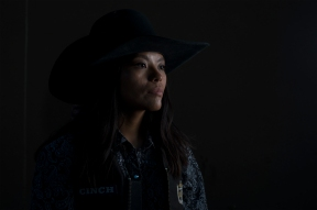 Desiree Wilson, 19 of Vanderwagen, NM, has been competing as a blurred for the past 2 years and will compete in the 68th annual Gallup Lions Club Rodeo on Saturday June 18, 2016 at Red Rock Park in Churchrock, Nm.