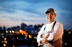 Chef Mike Ledesma poses for a portrait on Friday March 24, 2017. Ledesma is headlining Taste of Richmond. He is the corporate executive chef for Richmond Restaurant Group, which operates The Hill Cafe, East Coast Provisions, Pearl Raw Bar, The Daily Kitchen & Bar and two locations of The Hard Shell.