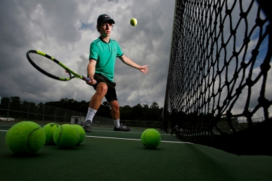 Jamestown's Grayson DeBerry is the tennis athlete of the year.